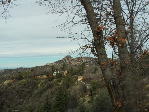 Looking out at The Pinnacles on one of my Southern California walks.