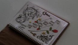 The front page of Sue's journal