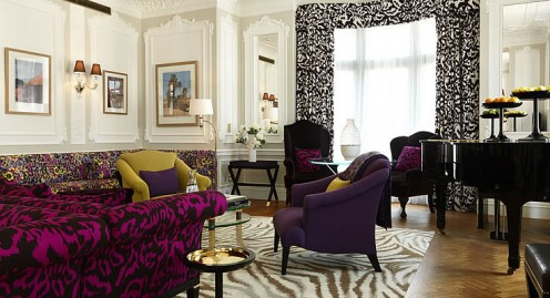 Diane von Furstenberg takes her iconoclastic fashion style and creates luxury hotel suites.