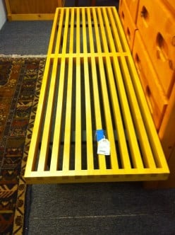 Nelson Platform Bench - The Ideal Slat Bench