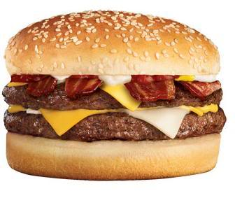 Jack-ithe-Box Bacon Ultimate Cheeseburger