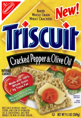 Triscuit Snack Crackers