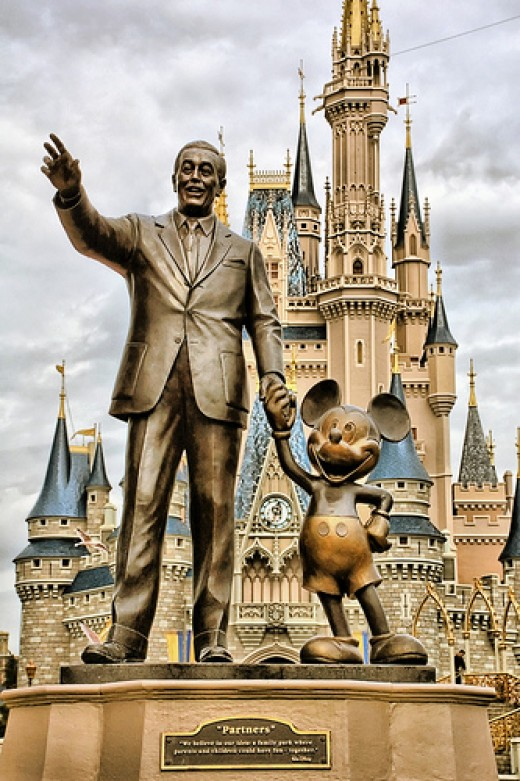 Walt Disney, greatest Cartoonist and founder of Walt Disney. Photo: Express Monorail