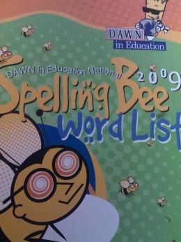 Spelling Bee kids dictionary