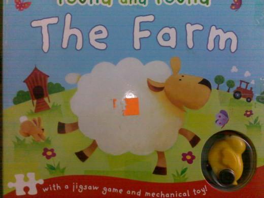 Children puzzle book