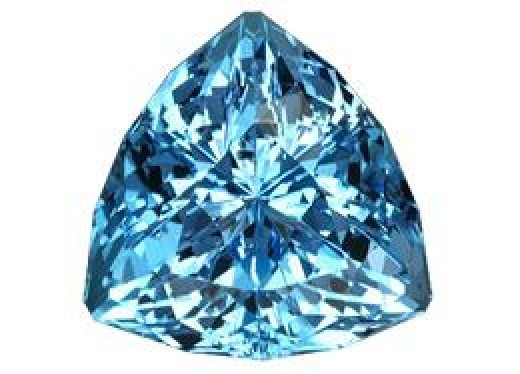 Trillion (Trilliant) Cut Sky Blue Topaz