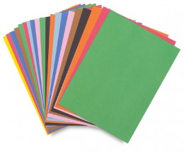 Piece of thin cardboard, oak tag, or standard size construction paper