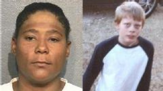 Mona Yvette Nelson and victim Jonathan Paul Foster