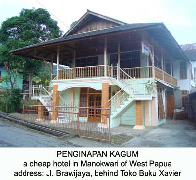 Kagum Homestay in Manokwari city of West Papua