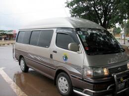 Typical Minivan Used On Visa Runs Described Here