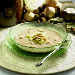 Chestnut Soup (with Savoy Cabbage) Image:  PHB.cz (Richard Semik)|Shutterstock.com