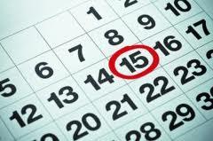 Online Calendar Template