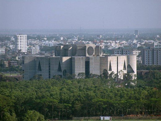 National Assembly Building (Distant view)