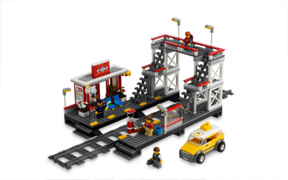 Lego City 7937 train station