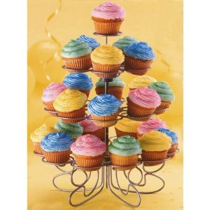 A cupcake stand is a must for cupcake bakers!