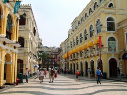 Senado Square - a part of the Historic Centre of Macau (Macao)