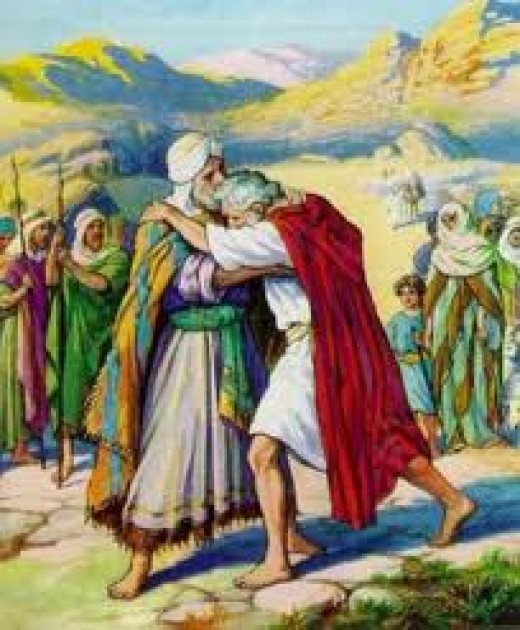 Reconciliation of Jacob & Esau