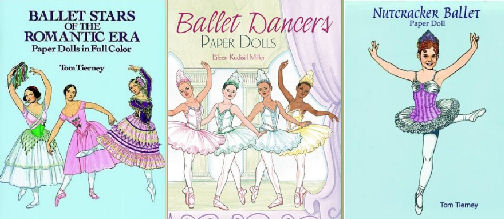Ballet paper dolls available from Amazon.com