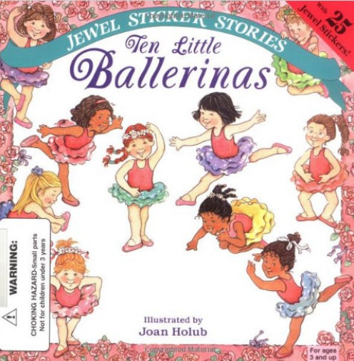 'Ten Little Ballerinas' available from Amazon.com