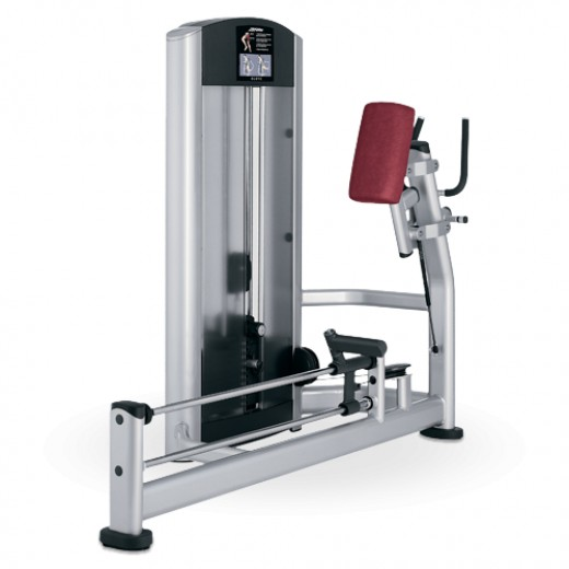 Hamstring Machine - What Lifefitness Calls the Glute Machine