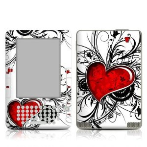 Buy an eReader cover with hearts for Valentines Day