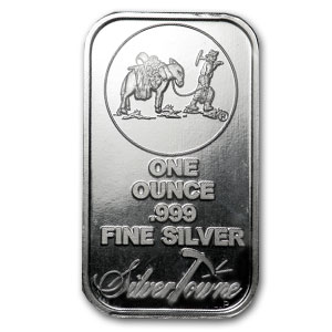This is an one ounce ingot of .999 fine silver