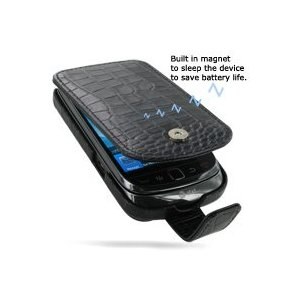 Superb crocodile look leather case for the Blackberry Torch. Available in multiple colours.