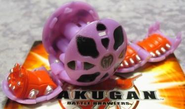 BakuPearl Purple Darkus Wormquake 390G