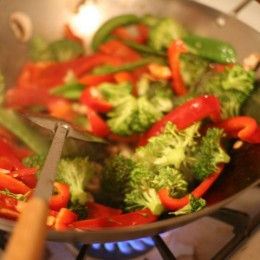 Stir fries are quick and delicious!