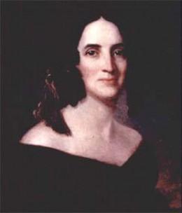 Polk's wife, Sarah Childress