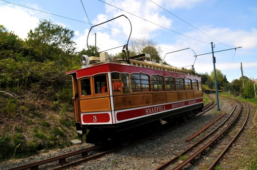 Snaefell Mountain Railway on the Isle of Man   David Lloyd-Jones 2010