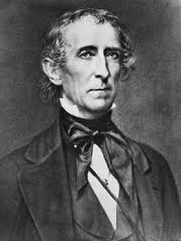 John Tyler, 10th President.