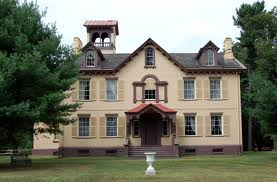 Lindenwald, Kinderhook, New York. Home of Martin Van Buren.
