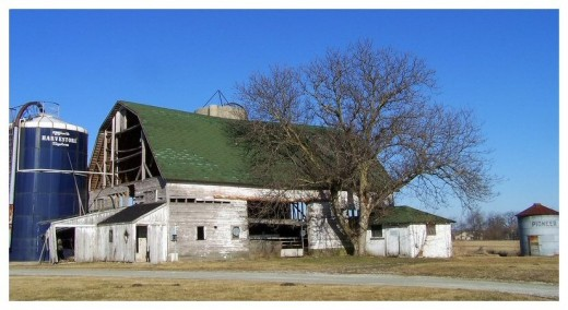 Old barns and silos are usually NOT an asset for the land investor. If they're part of the purchase, factor in the cost of removal and disposal.