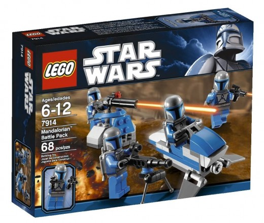 LEGO Star Wars 7914 Mandalorian Battle Pack - The box.