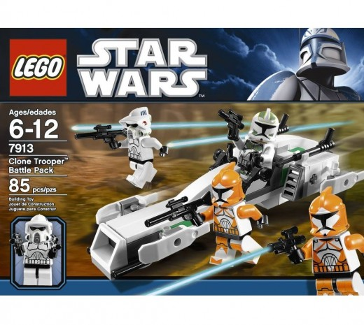 LEGO Star Wars 7913 Clone Trooper Battle Pack - The box