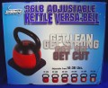 Fitness Over 50: Exercising with the Stamina 36-Pound Adjustable Kettle Versa-Bell Kettlebell