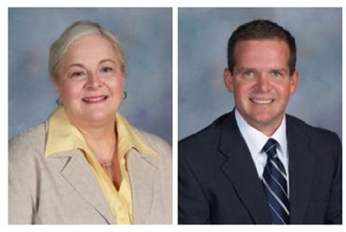 Vicky Kasper and Curtis Case