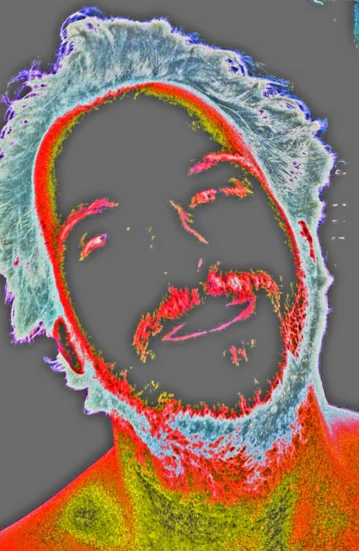 Self Portrait Cherry Gray
