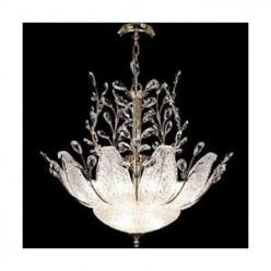 Chandelier: Gold Murano Crystal Italian Venetian Glass Chandeliers: Compare