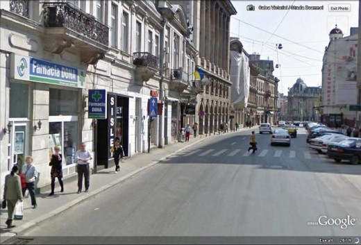 Streets of Bucharest(Romania)