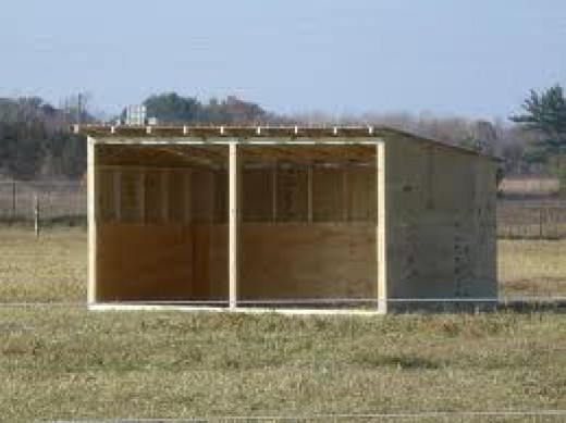 How to build a loafing shed