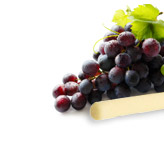 Low-fat cheese stick and grapes - source: all photos from Nutrisystem