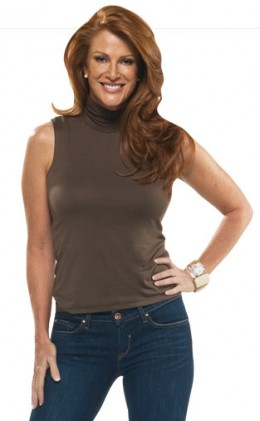 Angie Everhart lost 34 lbs.