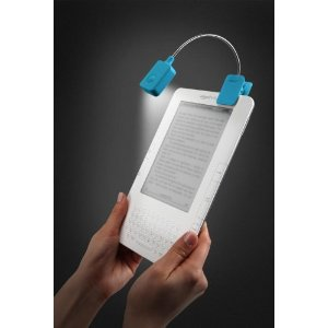 Buy a clip on eReader light
