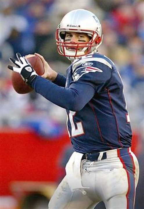 Tom Brady Leads the New England Patriots in the 2010 NFL Playoffs
