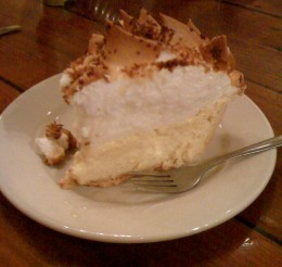 Coconut meringue