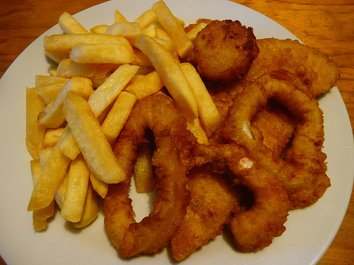 Cut down on deep fried food