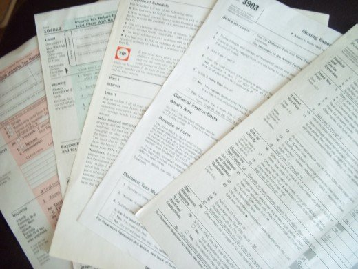Tax Forms, finding the right one, and knowing what the heck they want.