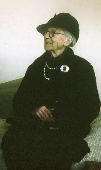 Great Aunt Hettie McGregor in the mid-1960s. Photo by Tony McGregor